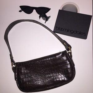 90's shoulder bag (dark-brown)